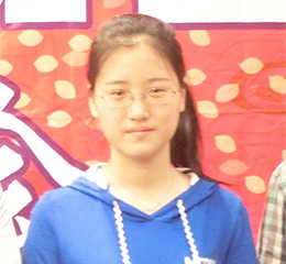 张钰楠 上海商学院考入上海理工大学